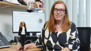 Barbika s likom naučnice koja je radila na vakcini protiv koronavirusa